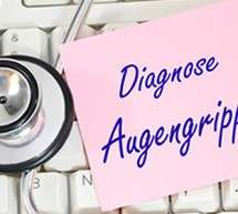 Bei schmerzhafter Augengrippe helfen keine Medikamente