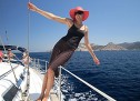 Mit dem Motorboot das Adriatische Meer vor Kroatien erkunden